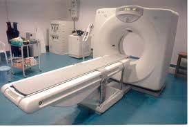 Picture of a CT Scanner that can be used to diagnosis mesothelioma