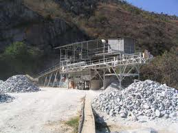 photo of talc mining